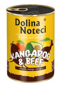 Dolina Noteci Superfood Kangur i wołowina