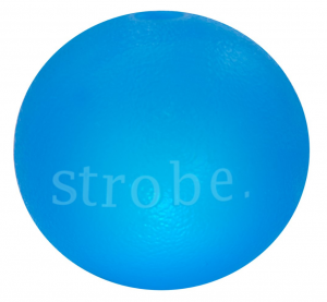 Planet Dog Strobe Ball Glow niebieska