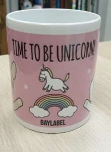 Baylabel Kubek Time to be Unicorn!