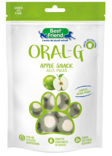 Best Friend Oral-G Apple Snack przysmaki z biotyną i cynkiem